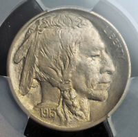 1913 UNITED STATES. BEAUTIFUL BUFFALO NICKEL  5 CENTS  COIN. TYPE 1  PCGS MS65