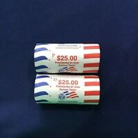 2009-PD ZACHARY TAYLOR PRESIDENTIAL DOLLARS 2 SEALED US MINT BU ROLLS OF 25
