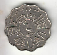 MIDDLE EAST  4 FILS 1938 KING        45G          BY COINMOU