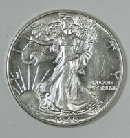 1940 WALKING LIBERTY HALF DOLLAR ALMOST UNCIRCULATED SILVER 50-CENTS