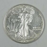 1941-S WALKING LIBERTY HALF DOLLAR ALMOST UNCIRCULATED SILVER 50-CENTS
