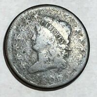 1808 CLASSIC HEAD LARGE CENT. AG, DATE BARELY IDENTIFIABLE. LOTQ2