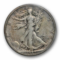 1919 50C WALKING LIBERTY HALF DOLLAR PCGS VF 25  FINE BETTER DATE ORIGINA