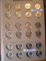COMPLETE COLLECTION, 1932 TO 1998-S WASHINGTON QUARTERS