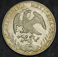1889 MEXICO  2ND REPUBLIC . SILVER 8 REALES
