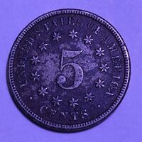 1870 P SHIELD NICKEL   FINE CONDITION LOOK AT DETAIL EDGES N