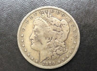 1890-S MORGAN SILVER DOLLAR U.S. COIN D9472