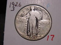 1926-S STANDING LIBERTY QUARTER F  COMBINED SHIPPING