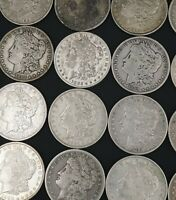 MORGAN DOLLAR ROLL 20 SILVER DOLLAR 1881-1921 90 MIXED LOT SHIPS FREE M1133