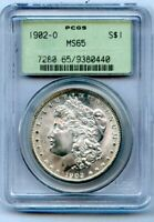 1902-O $1  MORGAN SILVER DOLLAR $1 PCGS MINT STATE 65