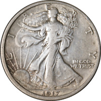 1917-P WALKING LIBERTY HALF GREAT DEALS FROM THE EXECUTIVE COIN COMPANY
