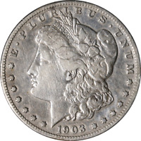 1903-S MORGAN SILVER DOLLAR GREAT DEALS FROM THE EXECUTIVE COIN COMPANY