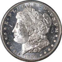 1898-O MORGAN SILVER DOLLAR PCGS MINT STATE 64PL BLAZING WHITE SUPERB EYE APPEAL