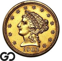 1903 QUARTER EAGLE $2.5 GOLD LIBERTY INVESTMENT GOLD PIECE