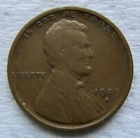 1909-S LINCOLN WHEAT CENT KEY DATE FINE