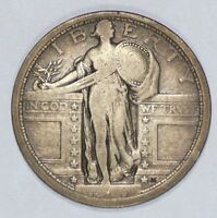 1917 TYPE-1 STANDING LIBERTY QUARTER  GOOD SILVER 25-CENTS