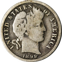 1899-O BARBER DIME GREAT DEALS FROM THE EXECUTIVE COIN COMPANY