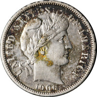 1906-S BARBER DIME GREAT DEALS FROM THE EXECUTIVE COIN COMPANY