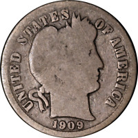 1909-S BARBER DIME GREAT DEALS FROM THE EXECUTIVE COIN COMPANY