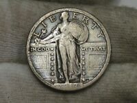 1917 T-2 TYPE 2 STANDING LIBERTY QUARTER.  59