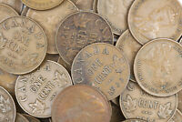 1920'S & 1930'S CANADA CANADIAN PENNY 1 CENT 1C LOT OF 50 CO
