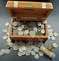 40 COIN ROLL LOT GOOD  1900 - 1912 LIBERTY V NICKEL US ESTATE COIN COLLECTION