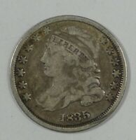 1835 CAPPED BUST SILVER DIME  GOOD SILVER 10C