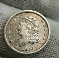 1836 CAPPED BUST HALF DIME 5C CENTS - FANTASTIC COIN, SHIPS FREE 9544