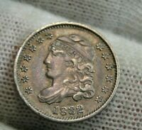 1832 CAPPED BUST HALF DIME 5C CENTS -  COIN, SHIPS FREE 9553