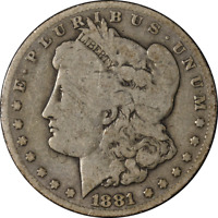 1881-CC MORGAN SILVER DOLLAR  G  EYE APPEAL  STRIKE