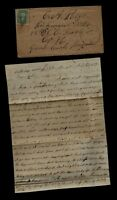 CONFEDERATE CIVIL WAR LETTER   48TH NORTH CAROLINA INFANTRY