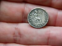 QUEEN VICTORIA SILVER FOUR PENCE 4P COIN DATED 1848 METAL DE