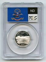 2006 S 25C SILVER NORTH DAKOTA QUARTER PCGS PR70DCAM