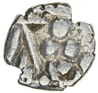 INDIA 3 DOT COINAGE OF MULTAN MUHAMMAD IV AFTER 913 AD BRAHM