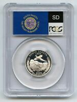 2006 S 25C SILVER SOUTH DAKOTA QUARTER PCGS PR70DCAM
