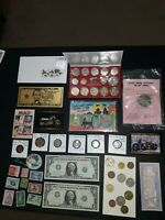 COIN LOT BIG COLLECTION MINT SET DOLLARS BU HARLEY CARTOON C