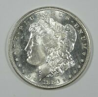 1880-S MORGAN SILVER DOLLAR BRILLIANT UNC  LOOKS GEM W/SURFACE HAIRLINES