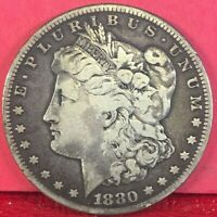 1880-S SAN FRANCISCO MINT MORGAN SILVER DOLLAR