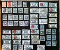 61 PLAYING CARDS TAX  STAMPS    SOUND LOT RF1 RF2 RF3   99C