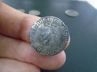 QUEEN MARY TUDOR SILVER HAMMERED GROAT DETECTING FIELD FINDS