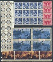 U.S. STAMPS   MNH   MULTIPLES   FACE VALUE: $24.96   LOT A 6