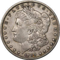 1889-P MORGAN SILVER DOLLAR - VAM - BAR WING GREAT DEALS FROM THE EXECUTIVE COIN