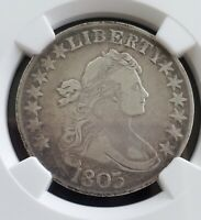 1803 HALF DOLLAR 50 SILVER COIN,  NGC CERTIFIED VF DETAILS