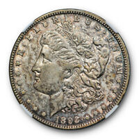 1893 O $1 MORGAN DOLLAR NGC AU 55 ABOUT UNCIRCULATED TO MINT STATE BETTER DAT