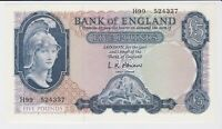 BANK OF ENGLAND 5 FIVE POUND BANKNOTE SIGNED BRIEN PERFECT M