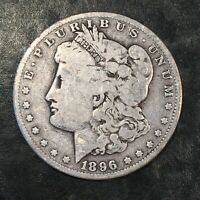 1896-O MORGAN SILVER DOLLAR - HIGH QUALITY SCANS I534