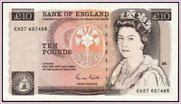 GREAT BRITAIN 10 POUNDS 1988 91 PICK 379