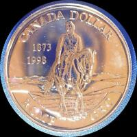 CANADA 1998 RCMP $1 OLD SILVER WORLD COIN GEM PROOF