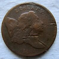 1794 1/2C LIBERTY CAP HALF CENT FULL DATE VG DETAIL     WE HAVE THE TOUGH DATES