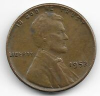 PENNY 1952 LINCOLN WHEAT